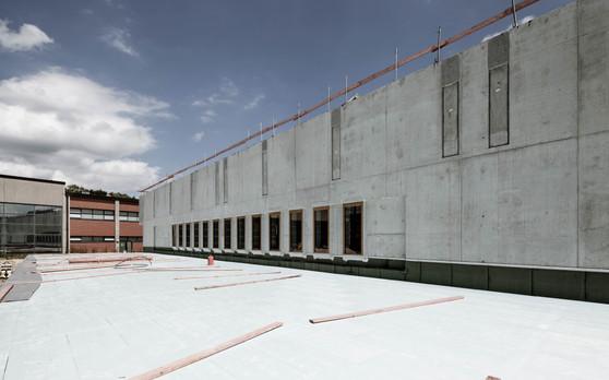 RDS Baustelle Sporthalle