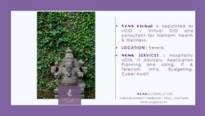 VCNS Global appointed as Hospitality vCIO - Virtual CIO & Consultant