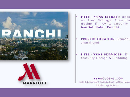 HITE-VCNS Global Sign Consultancy for Marriott Ranchi