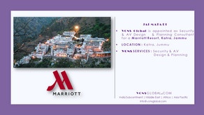 Marriott Katra, Jammu appoint VCNS Global to design Security & AV