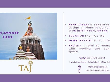 #2 Taj in Puri signed By VCNS Global