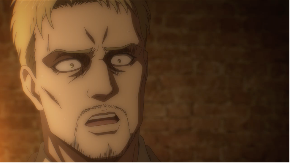 """A shocked Reiner as he reunites with a """"friend"""""""