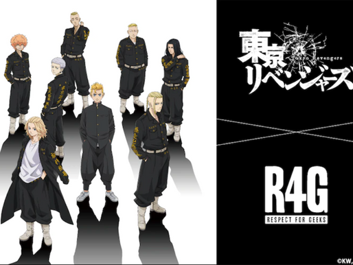 'Tokyo Revengers' collaborates with R4G for exclusive merch