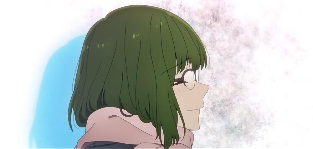 A sad smile from Sakura.