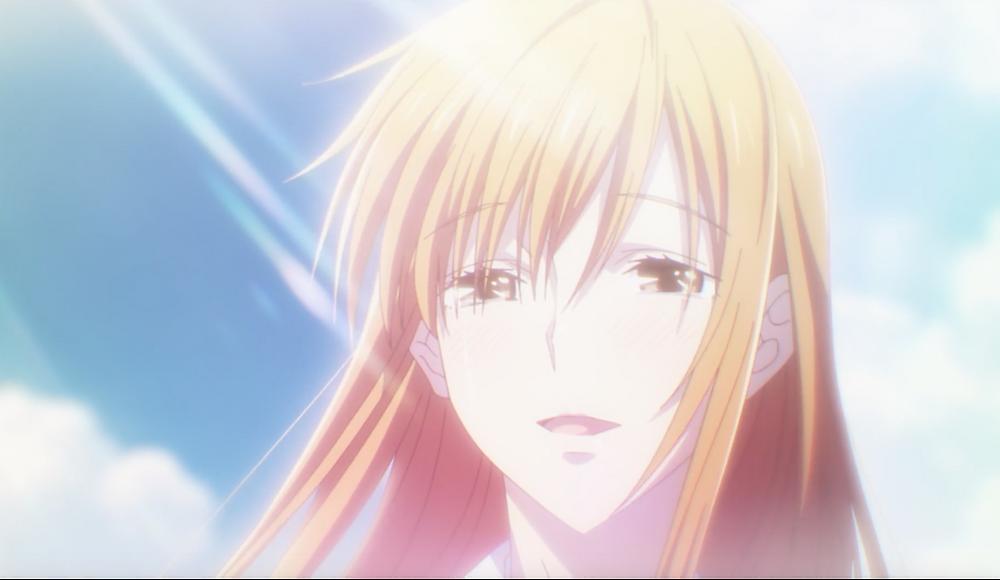 """""""You fought well, Kyoko."""""""