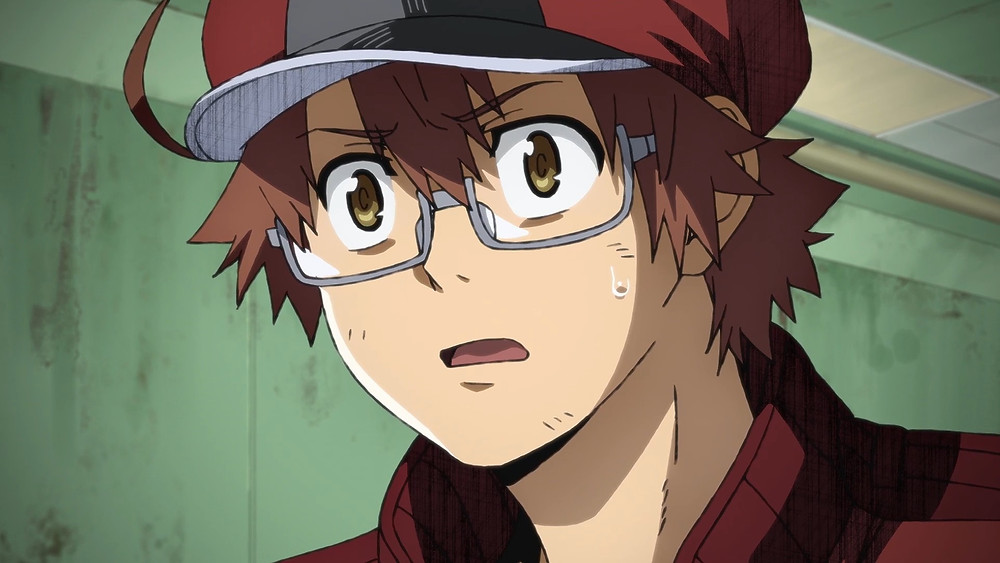 Red Blood Cell AA2153 lost in thought as a horrid scene presents in front of him