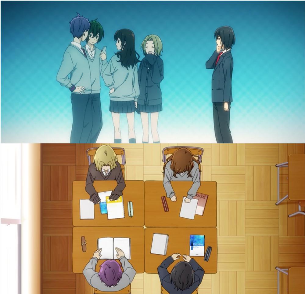 Miyamura's circle of friends