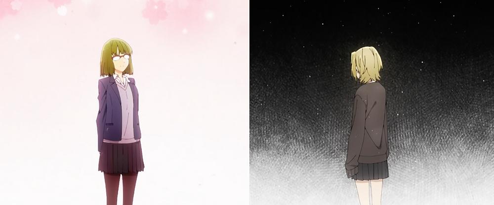 Spring (Sakura = cherry blossoms) x Winter (Yuki = snow)