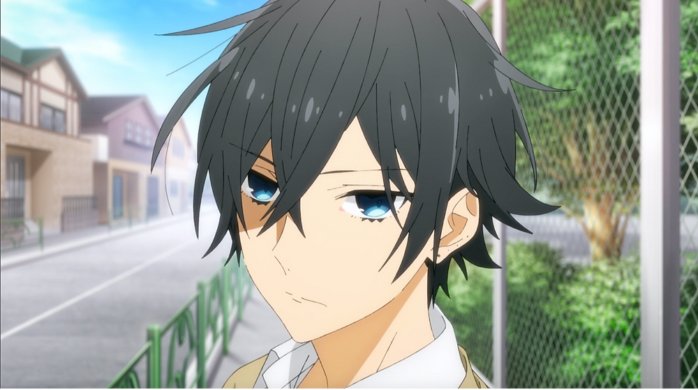 Miyamura's cold death stare sends chills! Uh-ohh...