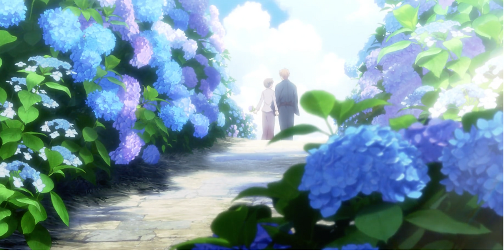 May they always walk the flower path!