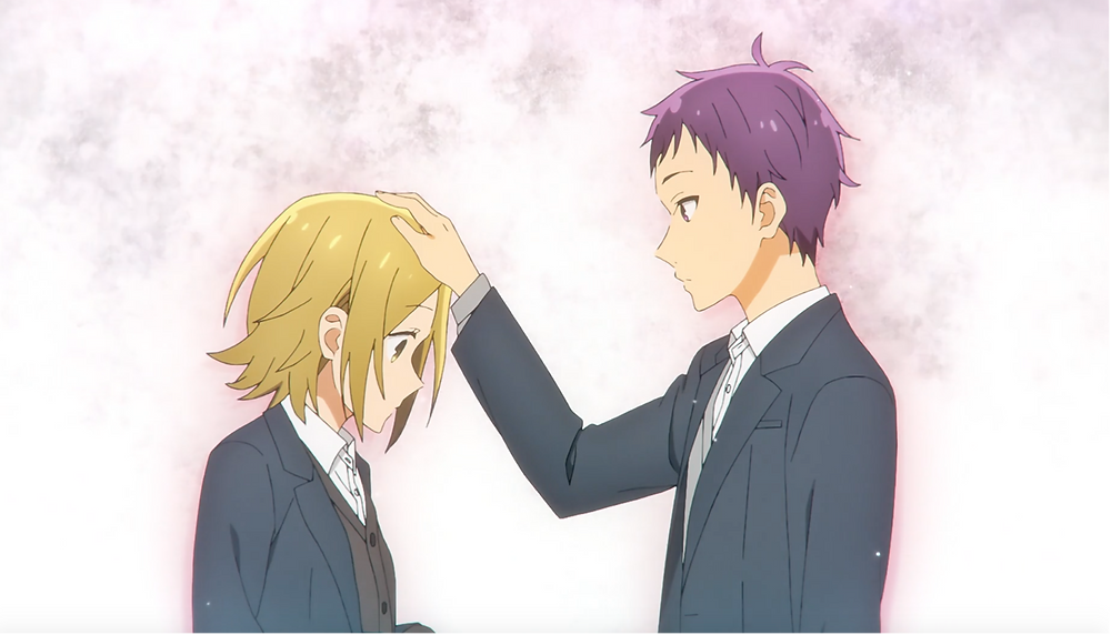 The head pat! Followed by Toru's sweet smile. *swoons*