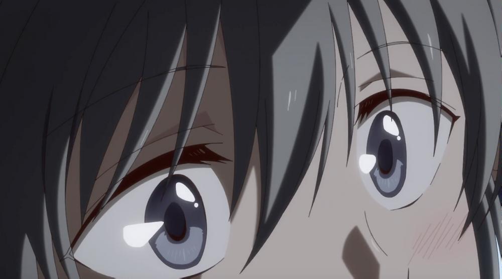Blushing Yuki!