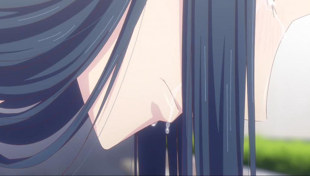 Mokoto's tears are heartwarming while bittersweet.