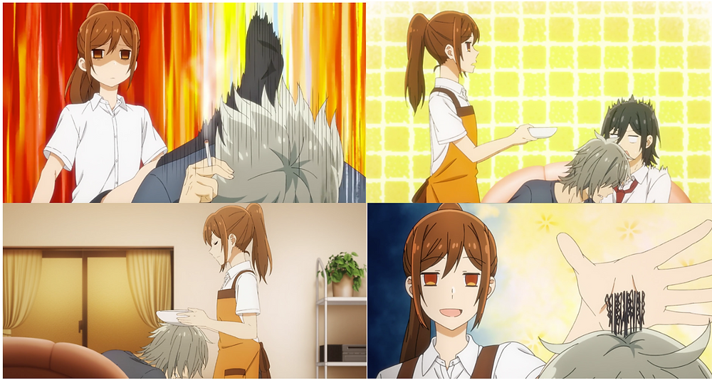 A father-daughter (too-brutal-yet-we-got-each-other) relationship between Kyosuke and Kyoko