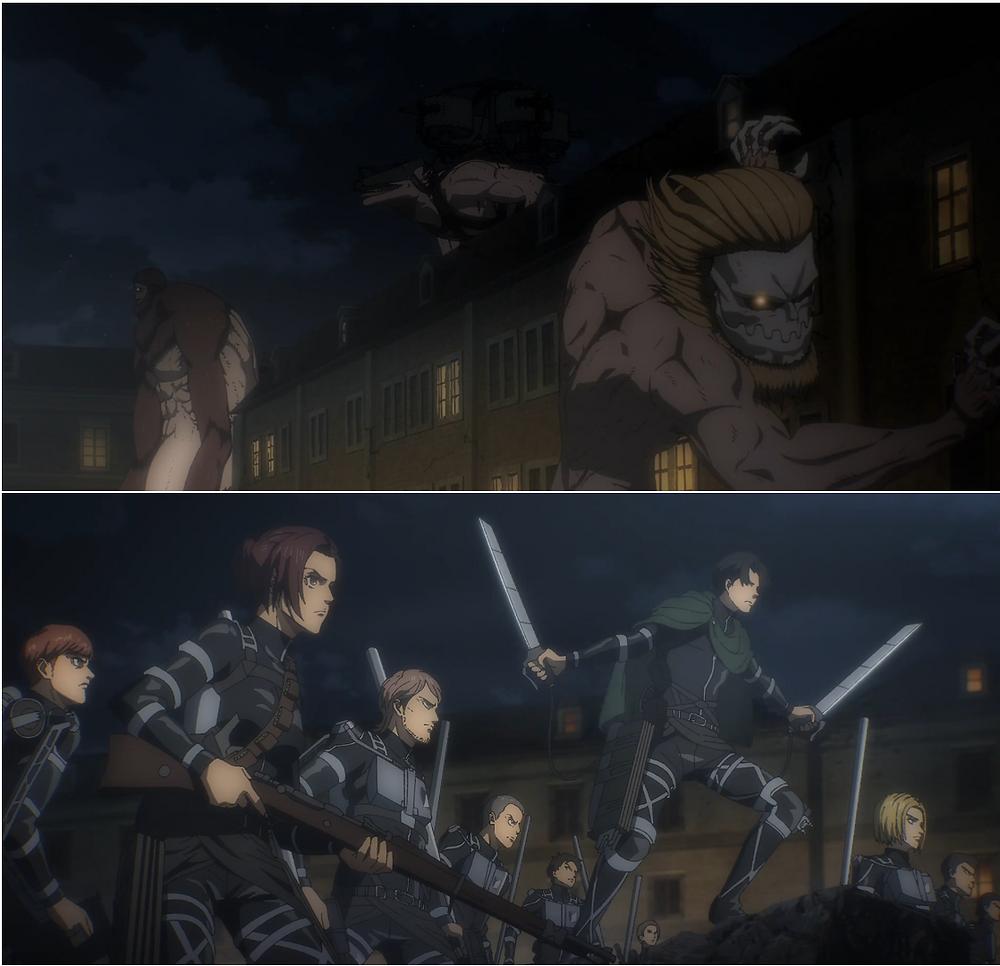 Marler's warrior unit vs. Eldia's Scouts: The Final Showdown!