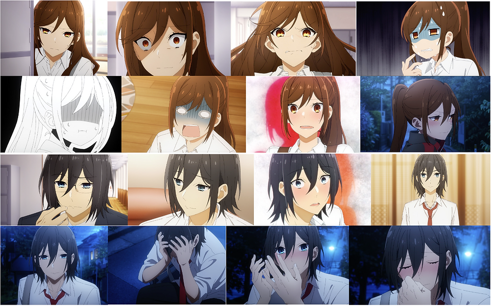 Hori and Miyamura with their myriad display of emotions: A rollercoaster ride!