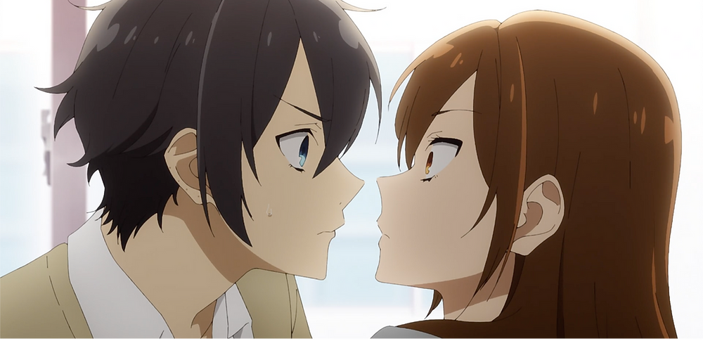 A more assertive Miyamura! Looks like Hori's caught off-guard!