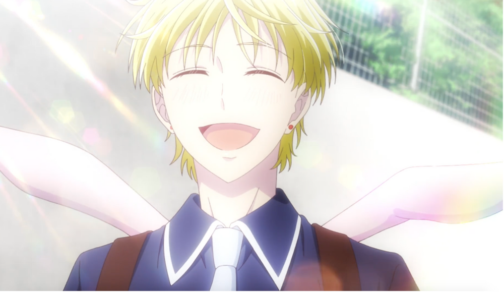 Operation: Protect This Precious Smile | Momiji beaming with hope and happiness