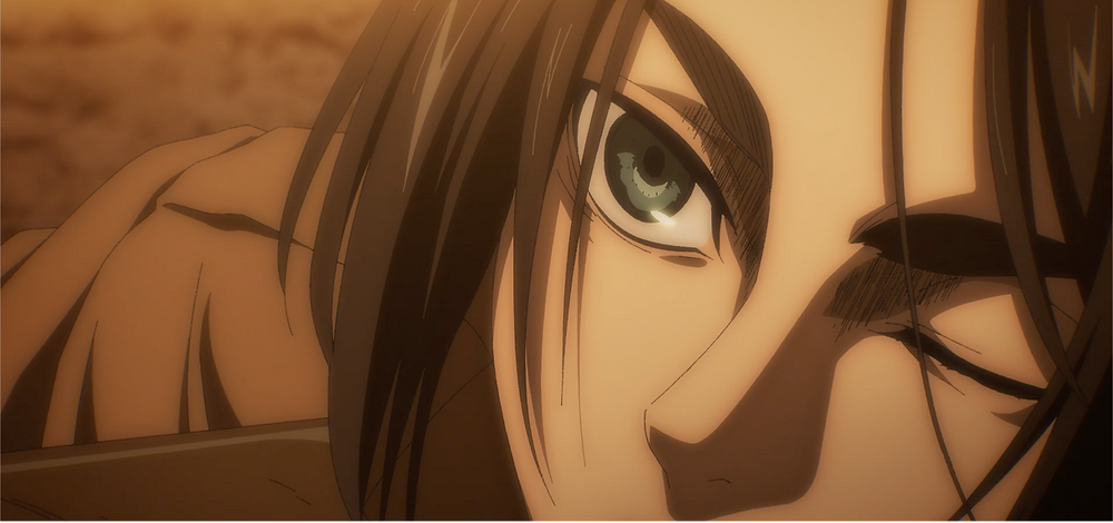 """Eren's affirmation of them being the """"monsters"""" the world perceive them as seen in his eyes"""