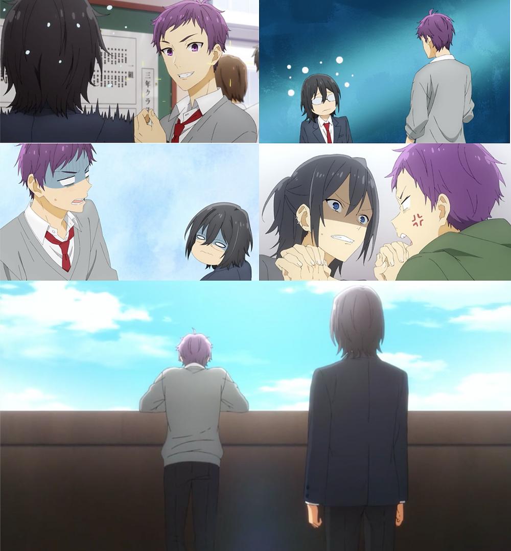 A brooding romance? Just Izumi and Tooru's petty quarrels!