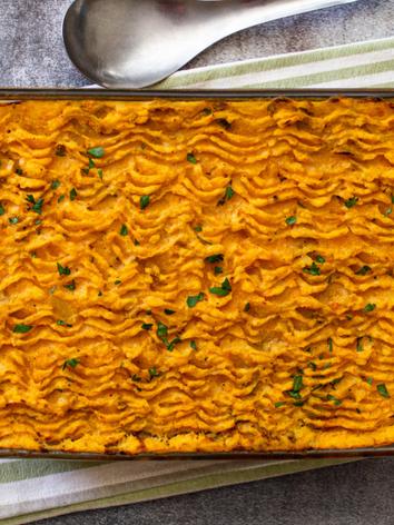 Vegan Lentil Cottage Pie