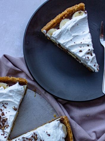 Vegan Banoffee Pie