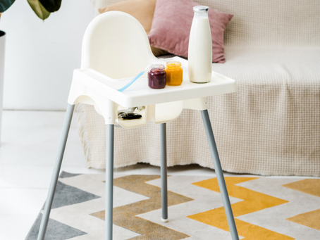 How to Clean & Disinfect a Highchair