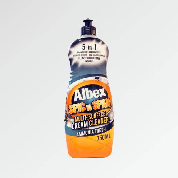 Albex Spic n Span Ammonia Cream Cleaner