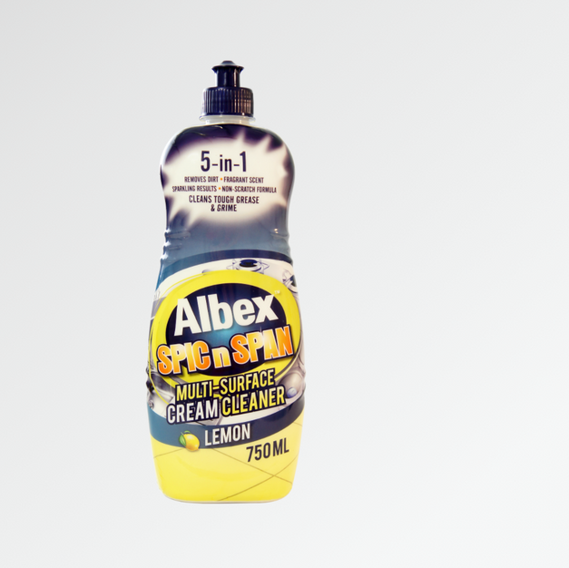 Albex Spic n Span Lemon Cream Cleaner