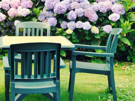 How to Clean & Disinfect Plastic Outdoor Furniture