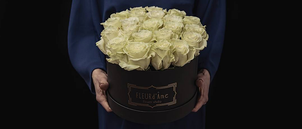 Grande Boîte à Chapeaux - RoseAVALANCHE