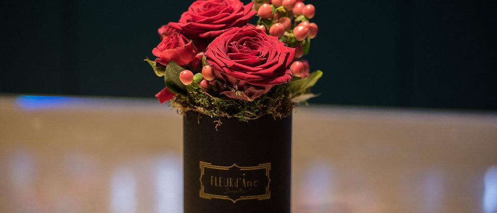 Petite Boîte à Chapeaux - Rose Mix