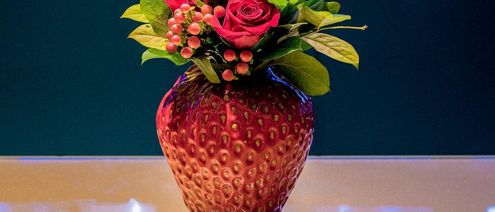 Grosse Fraise - Rose rosse