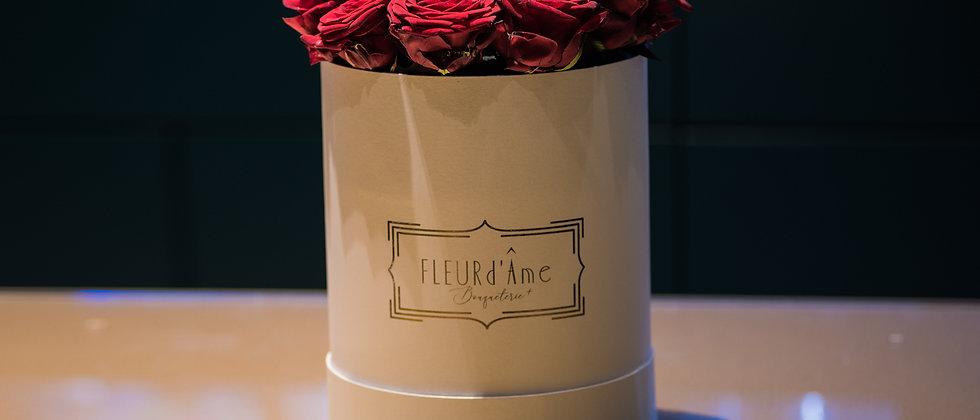 Grande Boîte à Chapeaux - Rose Rosse