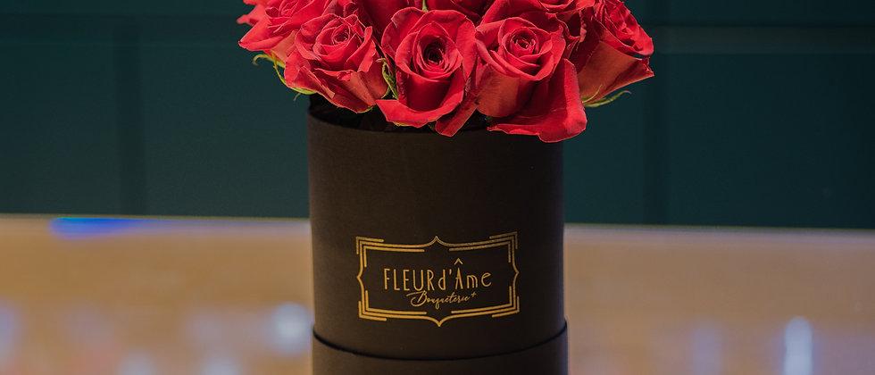 Moyenne Boîte à Chapeaux - Rose Rosse