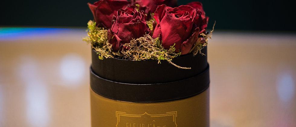 Petite Coffret - Rose Rosse