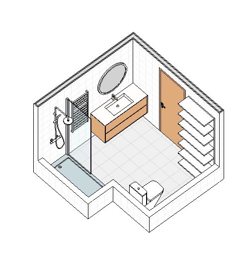 Propuesta reforma baño