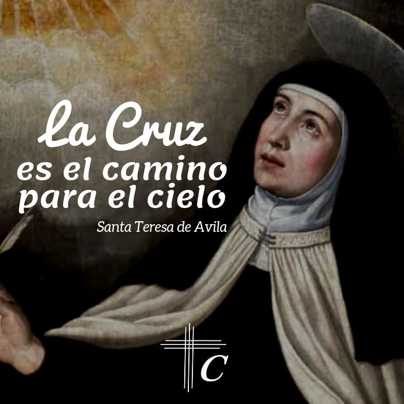 Frases De Santa Teresa De Avilapng