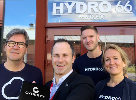 Cyberty and Hydro66 join forces to fight cyber crime