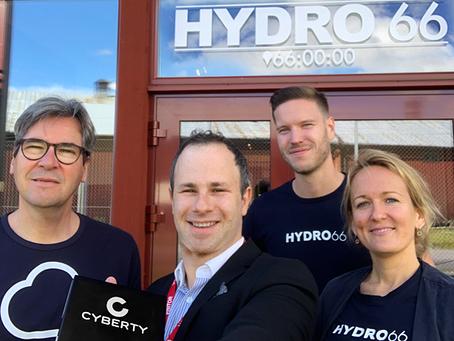 Cyberty och Hydro66 bekämpar cyberhot