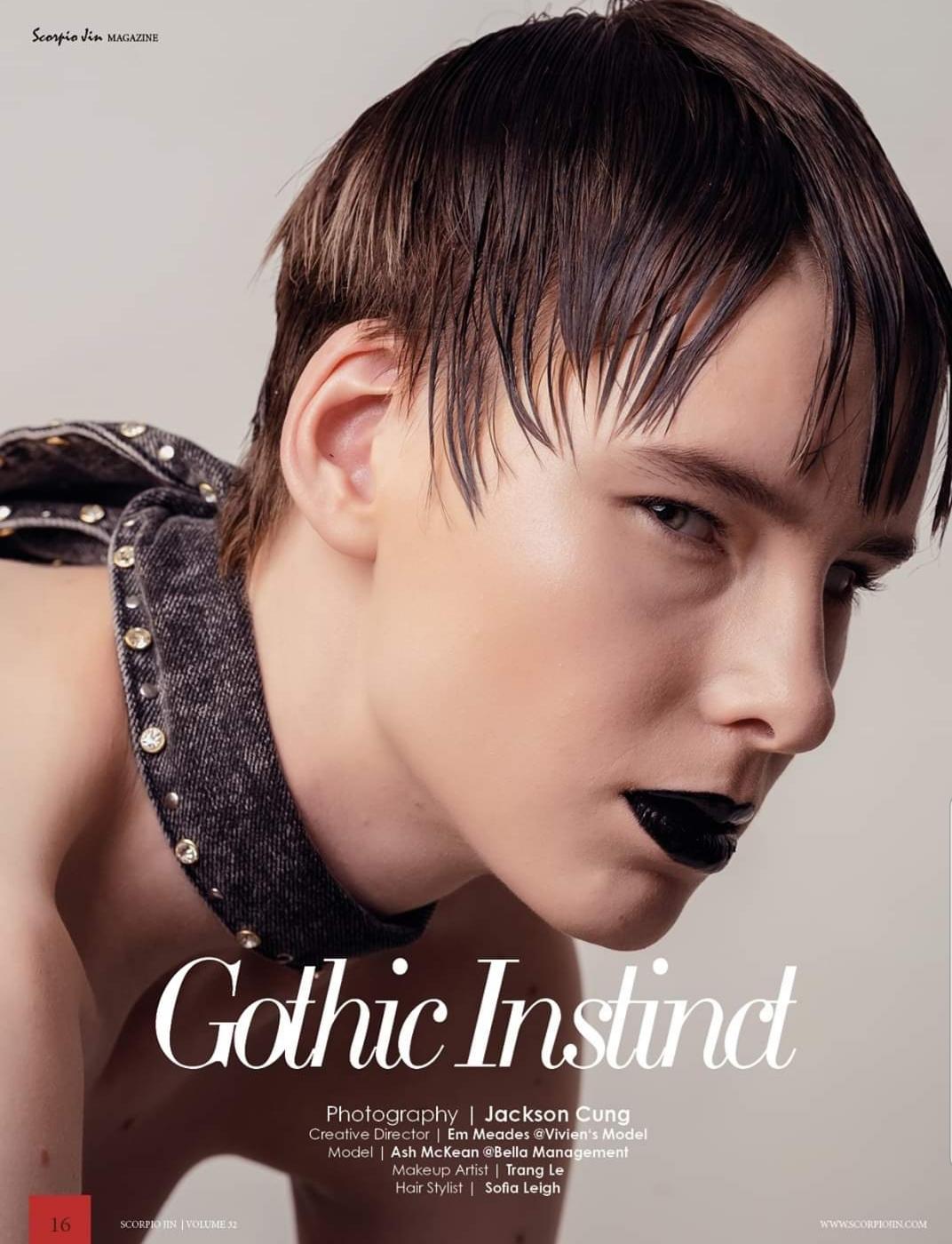 GOTHIC INSTINCT | SCORPIO JIN MAGAZINE VOL 32