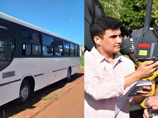 Fernando de la Mora innova con transporte público municipal