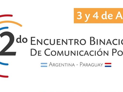 En abril, llega el 2do. Encuentro Binacional de Comunicación Política