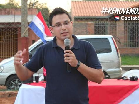 Queremos transmitir el mensaje de juventud e idoneidad para renovar la Junta Municipal en Capiatá