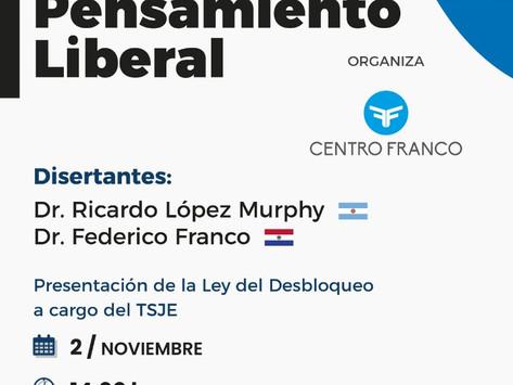 Invitan al Seminario Internacional de Pensamiento Liberal