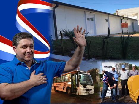 Alcides Riveros dejará una administración marcada por las promesas cumplidas