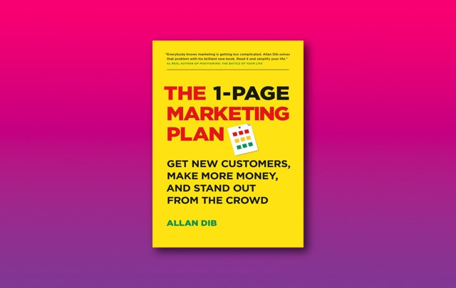 The 1-Page Marketing Plan | Allan Dib