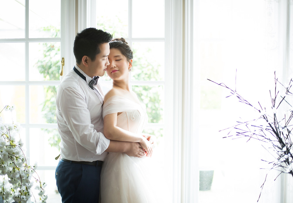 Wedding photo in Vancouver