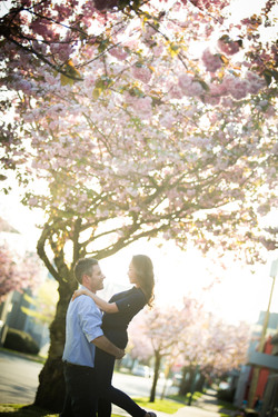 engagement photo in Vancouver