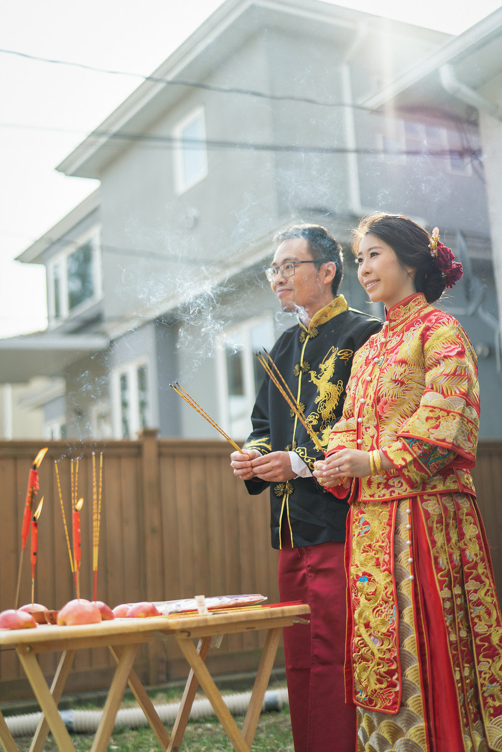 Chinese tea ceremony photo in Vancouver